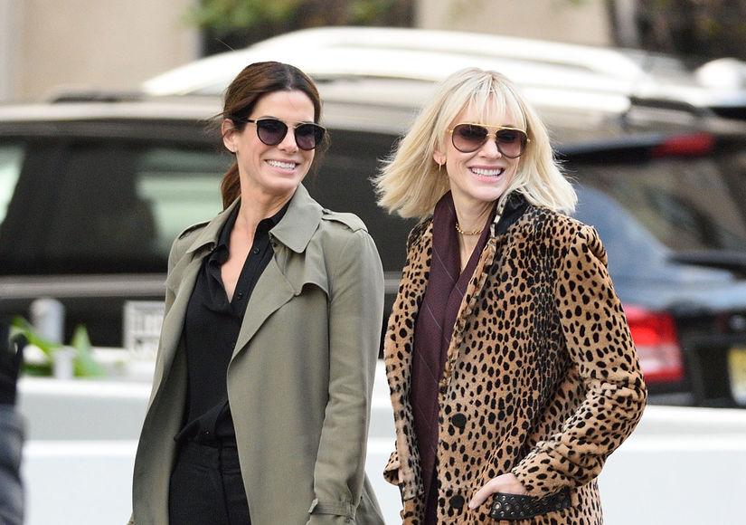 Cate Blanchett Teases 'Ocean's Eight' Surprises