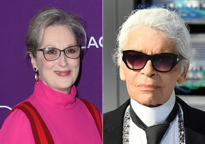 Meryl Streep & Karl Lagerfield's Fashion Spat Before the Oscars
