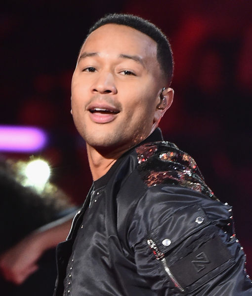 John Legend Laughs Off 'Vulgar' Anti-Trump Twitter Hack