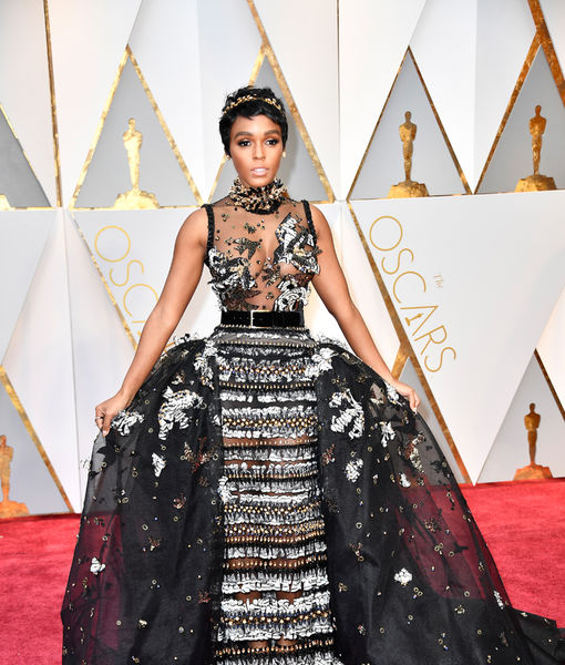 Janelle Monáe Makes Stunning Red-Carpet Debut at Oscars