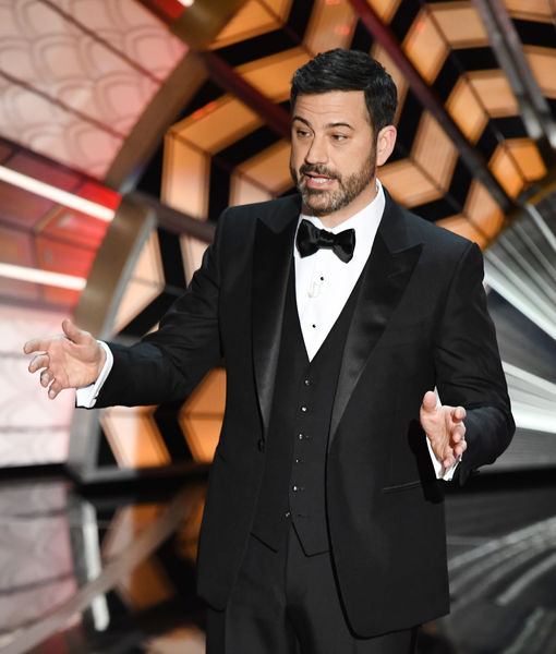Jimmy Kimmel Roasts President Trump Immediately in Oscars 2017 Opening Monologue