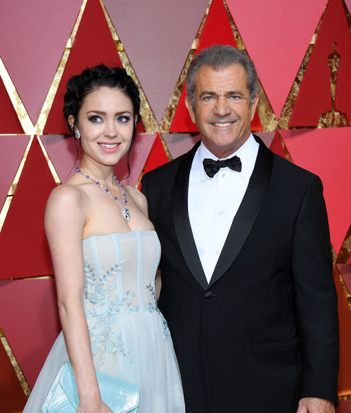Mel Gibson's Epic Reaction to GF Rosalind Ross' Post-Baby Bod at the Oscars