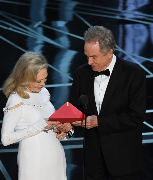 Warren Beatty & Faye Dunaway React to Oscars 2017's Big Best Picture Snafu