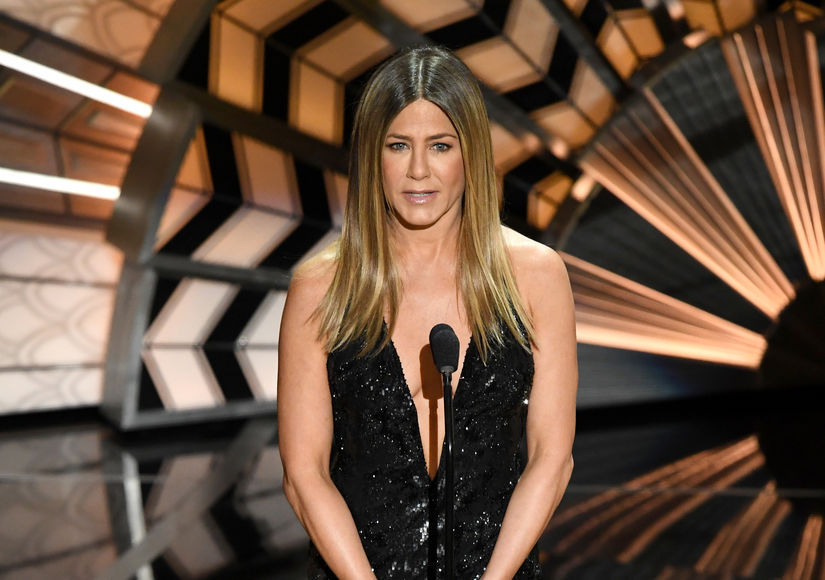 Did Jennifer Aniston Steal Jennifer Lopez's Style for the Oscars?
