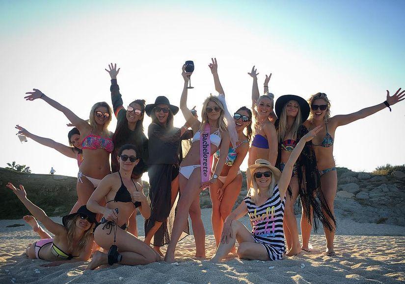 Julianne Hough Kicks Off Bachelorette Party Weekend — See Her Bikini Body!