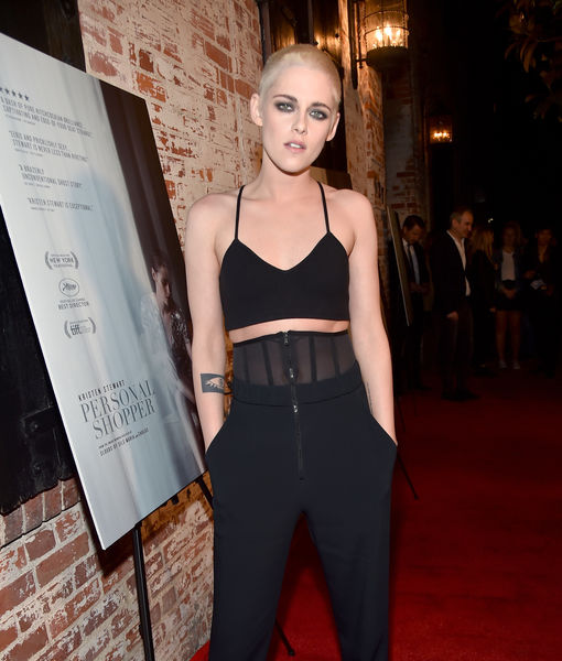 Kristen Stewart Shaves Her Head! See Her New Platinum-Blonde Look