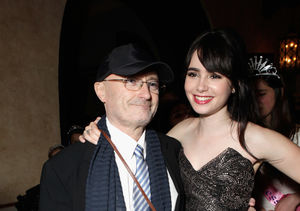Lily Collins Tries to Make Peace with Rocker Dad Phil Collins in Open Letter