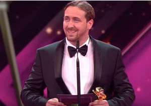 Ryan Gosling 'Look-alike' Crashes German Award Show! See His Acceptance…
