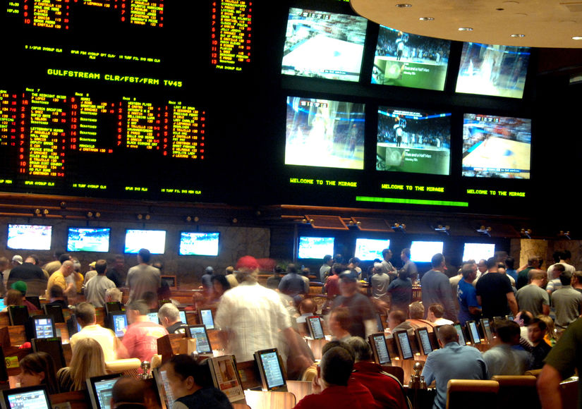 Celebrating March Madness in Las Vegas