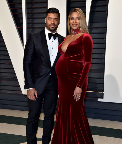 Pregnant Ciara in Car Crash