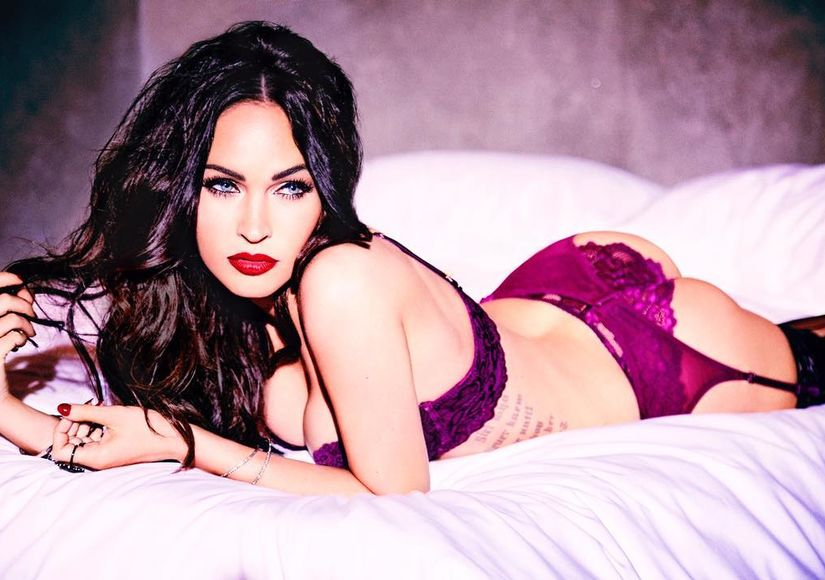 Megan fox being sexy