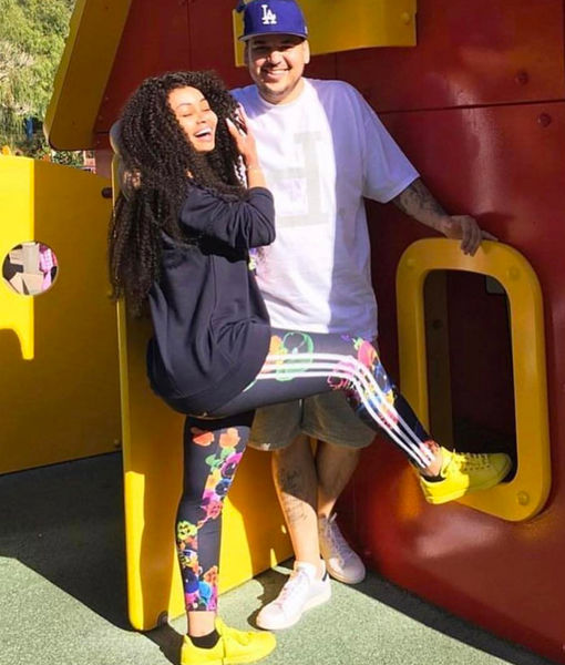 Blac Chyna Wishes Ex-BF Rob Kardashian a Happy Birthday