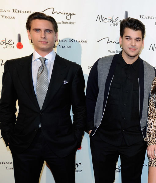 Scott Disick on Drama Magnet Rob Kardashian: 'I Think He's Doing Good'