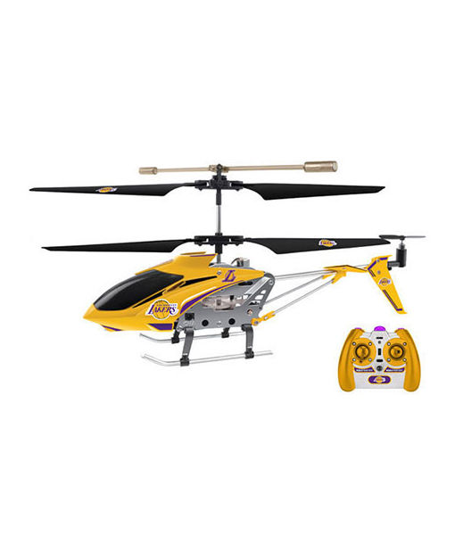 Win It! An L.A. Lakers Helicopter by World Tech Toys