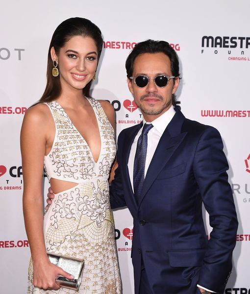 Marc Anthony Gushes About Jennifer Lopez After His Red-Carpet Debut with Young GF