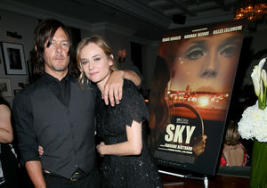 Norman Reedus and Diane Kruger's 30-Minute Makeout Session on the…