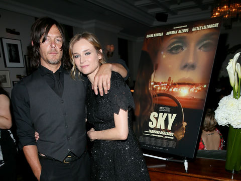 Norman Reedus and Diane Kruger's 30-Minute Makeout Session on the Streets of NYC