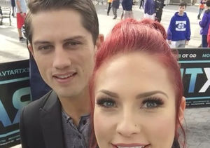 Sharna Burgess & Bonner Bolton Sound-Off on 'DWTS' #Handgate, and…