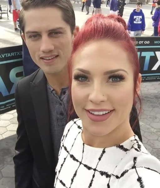 Sharna Burgess & Bonner Bolton Sound-Off on 'DWTS' #Handgate, and Those Dating Rumors