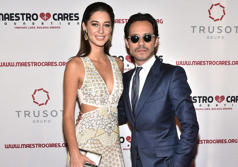 Marc Anthony Hits the Red Carpet at Maestro Cares Gala