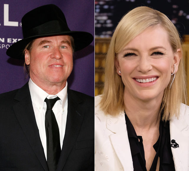 Val Kilmer Speaks Out on His Alleged Cate Blanchett Obsession
