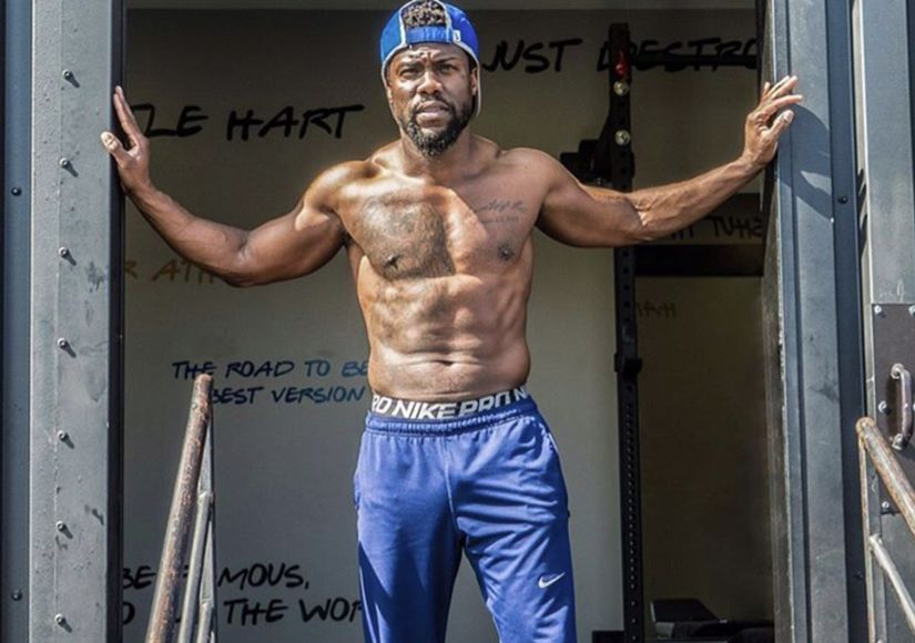 Kevin Hart Shows Off Full-Body Transformation