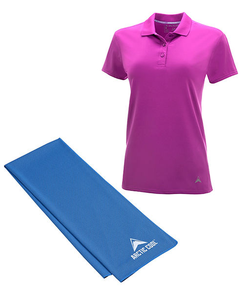 Win It! Instant Cooling Shirt and Towel by Arctic Cool