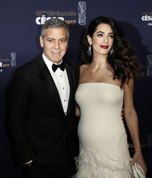 George Clooney Opens Up About Amal's Pregnancy: 'She Is Amazing'