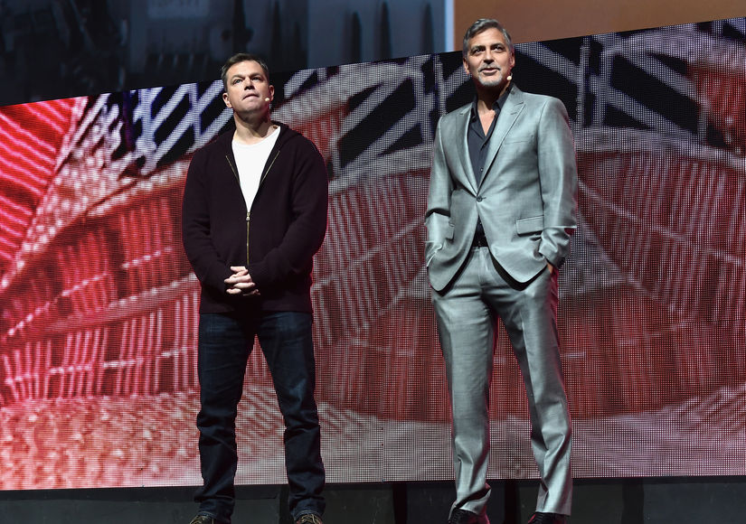 Matt Damon Reveals How George Clooney's Time in Las Vegas Has Changed Since…