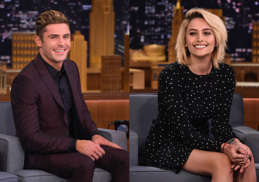 Zac Efron Invites Paris Jackson to 'Baywatch' Premiere