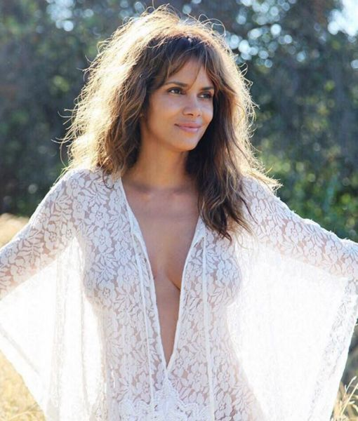 Halle Berry's Braless Photo Nearly Breaks Internet