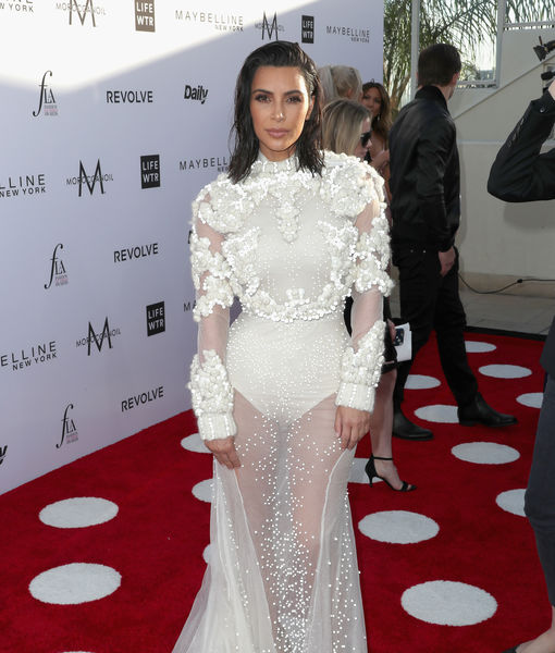 Kim Kardashian Clears the Air on Reports She Was Attacked After Fashion Los Angeles Awards