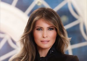 See First Lady Melania Trump's First Official White House Portrait