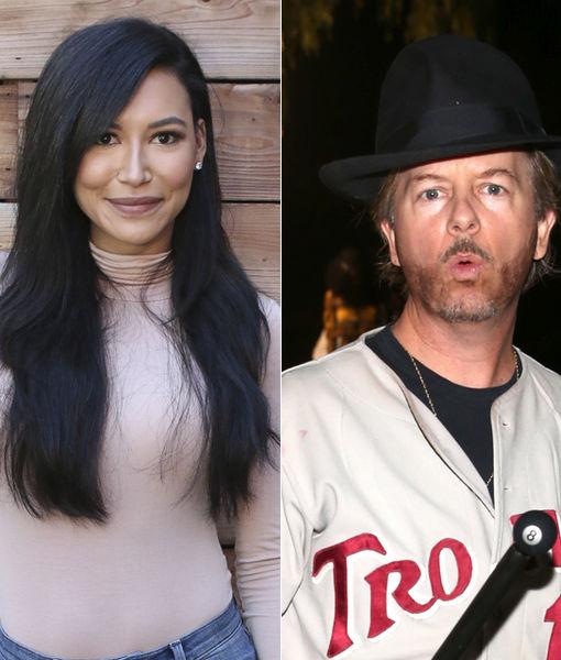 Are Naya Rivera & David Spade Dating? See Her Response!