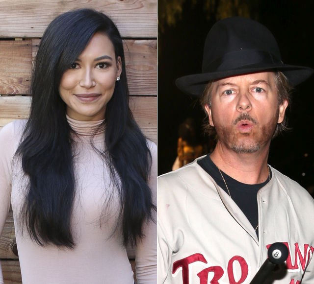 Are Naya Rivera & David Spade Dating? See Her Response!