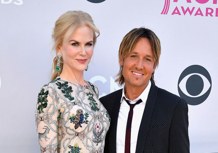 Adorbs! Nicole Kidman & Keith Urban's Daughters Root for Daddy