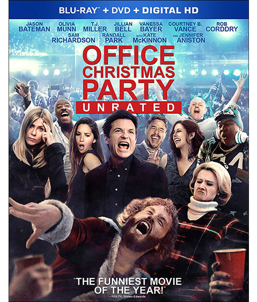 Win It! 'Office Christmas Party' on Blu-ray and DVD