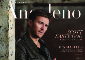 Behind the Scenes at Scott Eastwood's Photo Shoot for Modern Luxury Magazines
