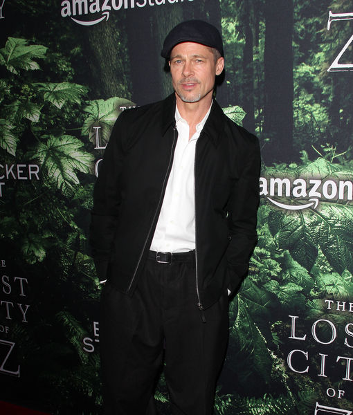 Brad Pitt's Red-Carpet Surprise at 'Lost City of Z' Premiere