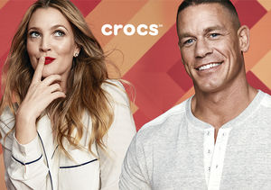 Drew Barrymore and John Cena Celebrate One-of-a-Kindness with Crocs 'Come As…