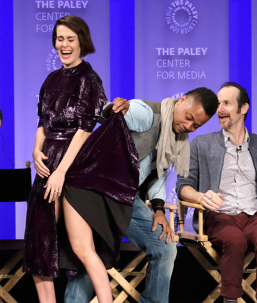 Cuba Gooding Jr. Speaks Out on Sarah Paulson Skirt-Lifting Controversy