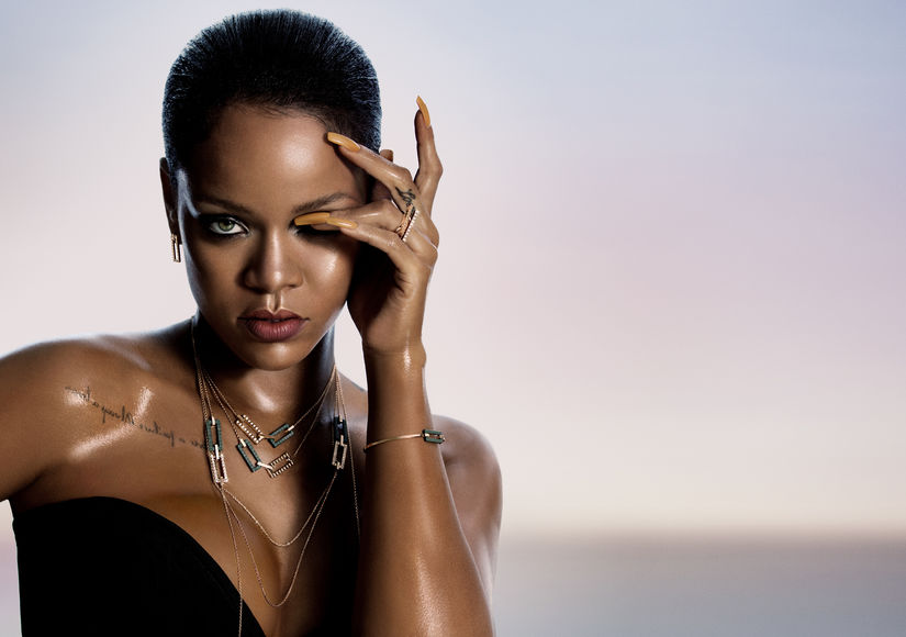 Rihanna Has Already Worn Her New Collection for Chopard