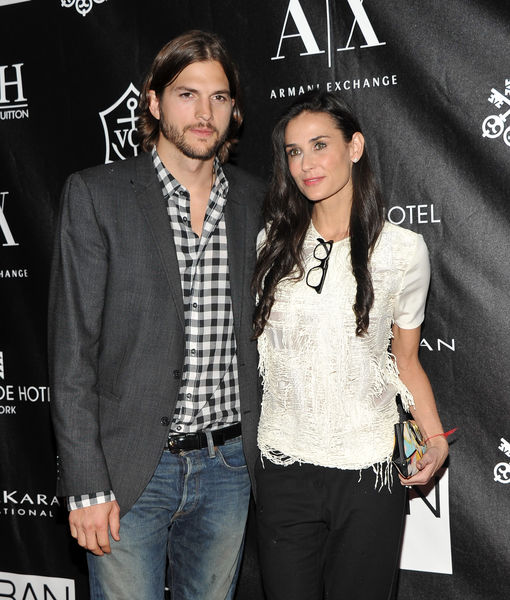 Ashton Kutcher Opens Up on Demi Moore Cheating Rumors, Plus: His Emotional…