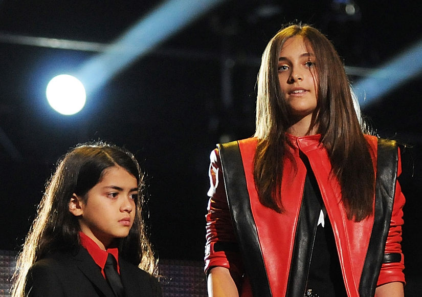 Paris Jackson's New Fears for Brother Blanket