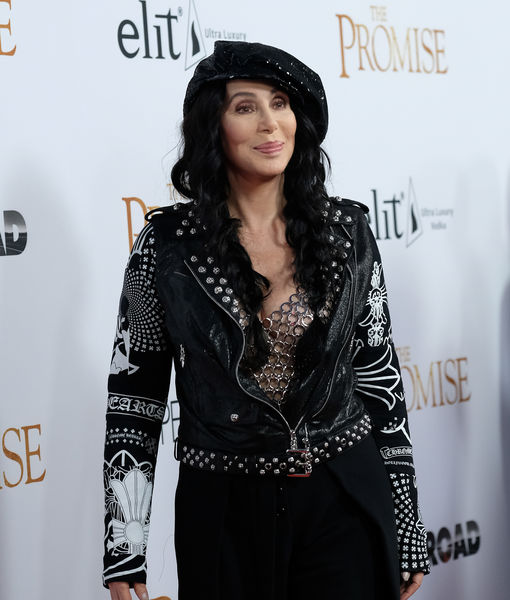 Cher Bashes President Trump's Decision to Bomb Syria