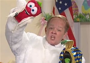 Melissa McCarthy's Spicer the Easter Bunny Does Damage (Control)