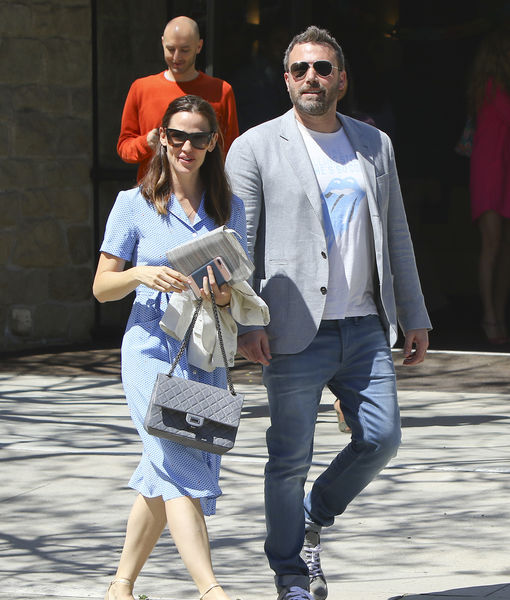 Friendly Exes! Ben Affleck & Jennifer Garner's Happy Easter Sunday After Divorce Filing