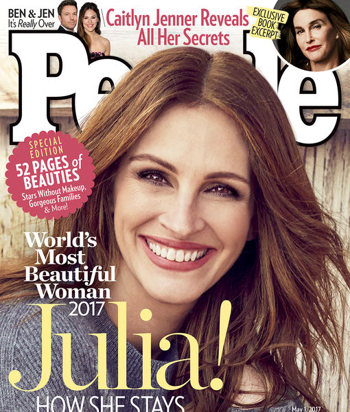 Julia Roberts Is People's Most Beautiful Woman for Fifth Time!