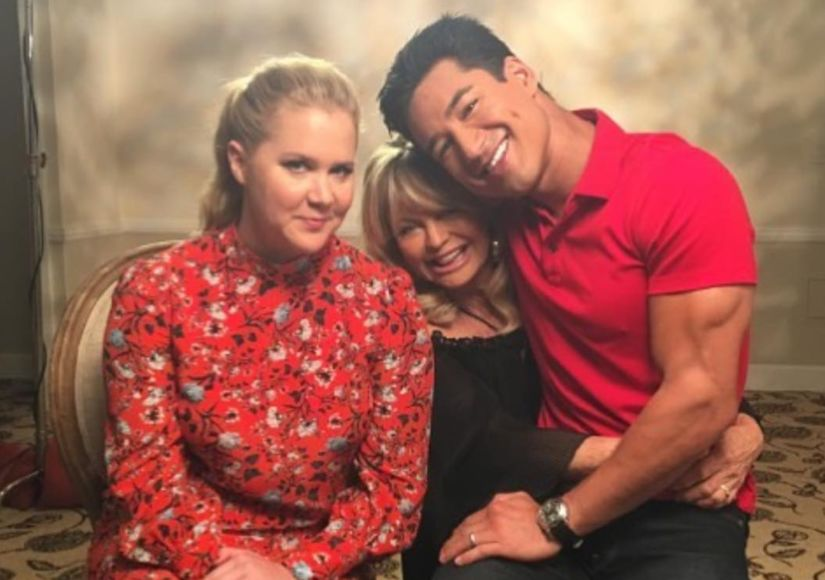 Goldie Hawn & Amy Schumer on Hawaii Hangouts: 'We Would FaceTime and…