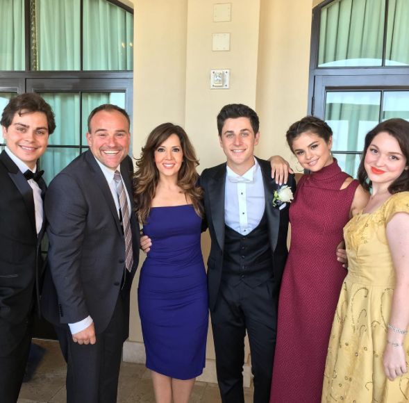Selena Gomez Attends Wedding of David Henrie, Former Disney Co-Star